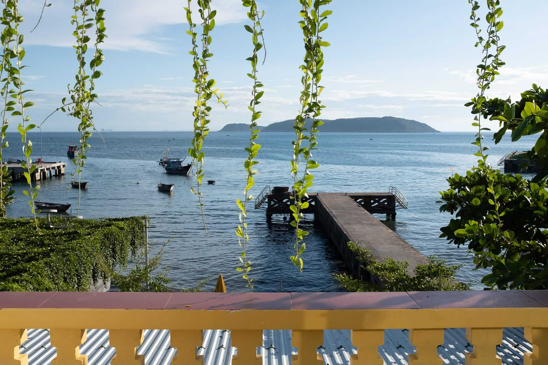Sea view from Cham Islands hotel