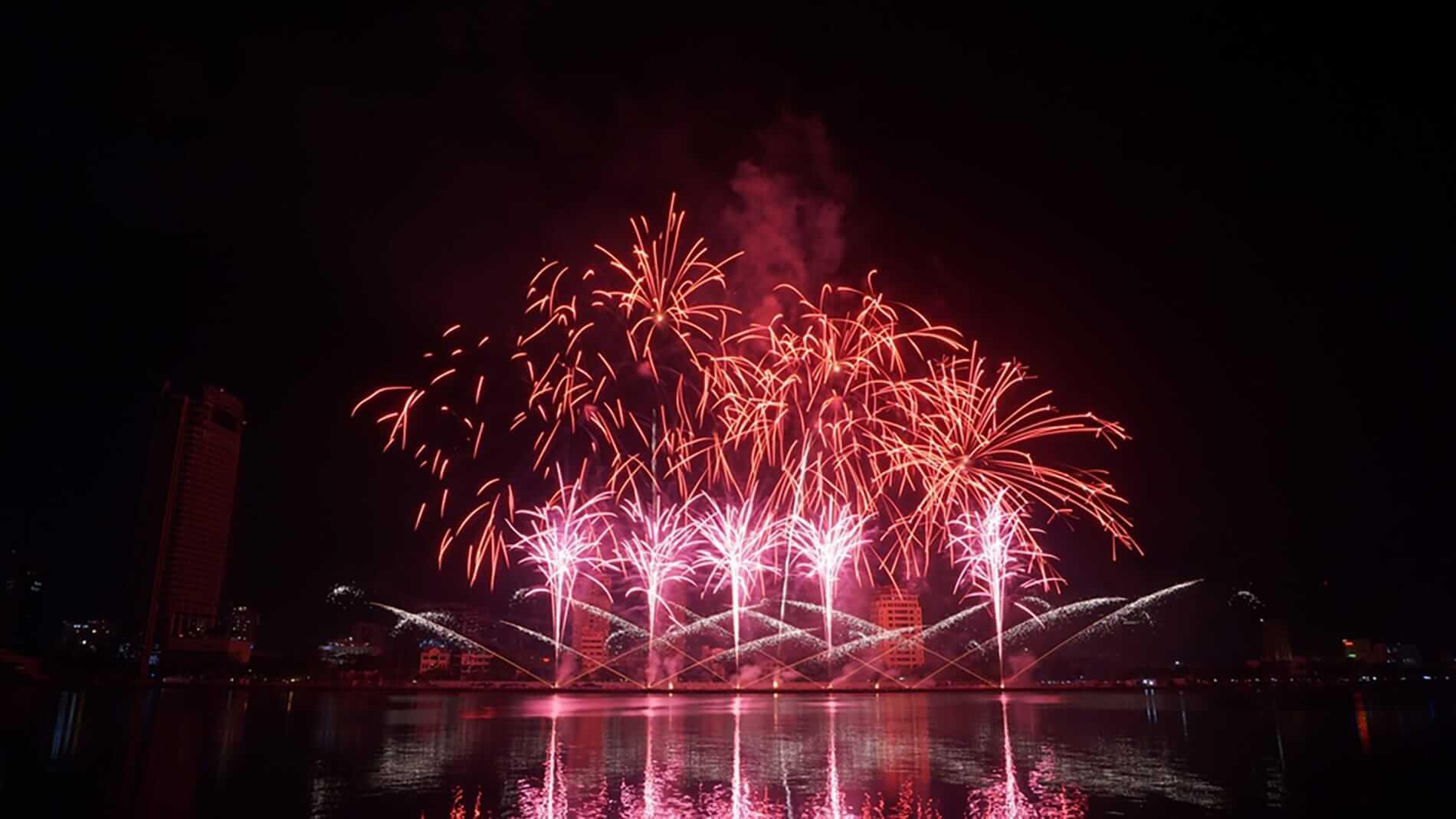 A view of Da Nang Fireworks