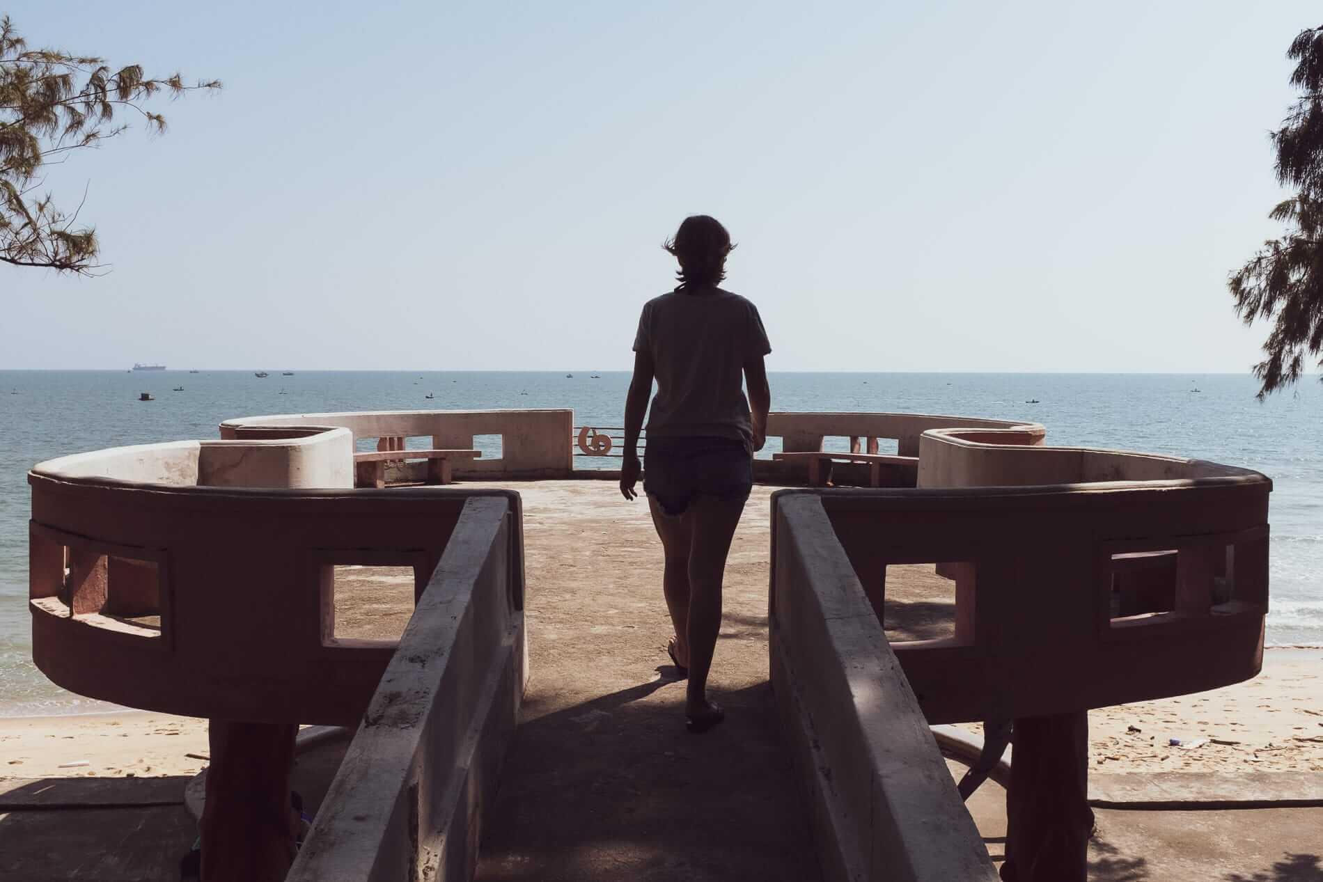 beachfront view - Hoi An to Quy Nhon