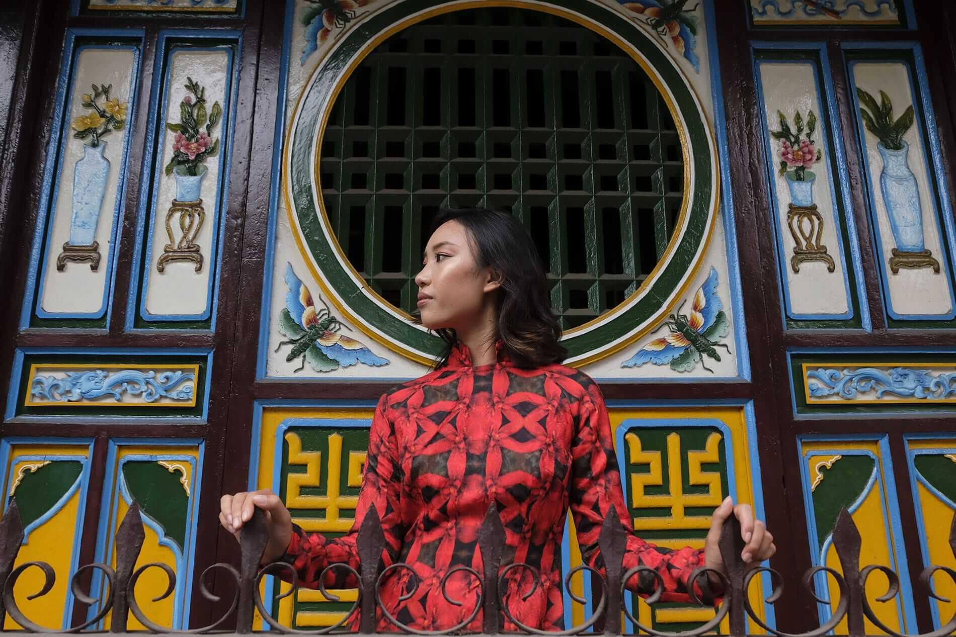 Chula fashion shoot in Hoi An