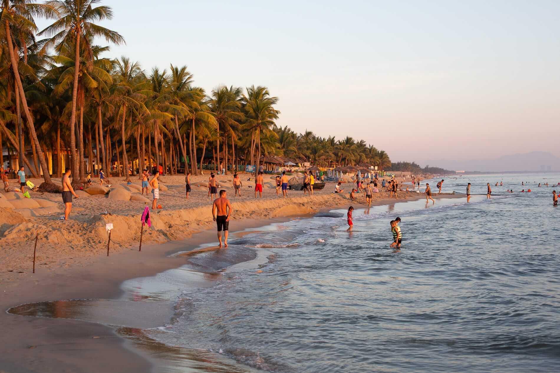 Hoi An Beach dawn