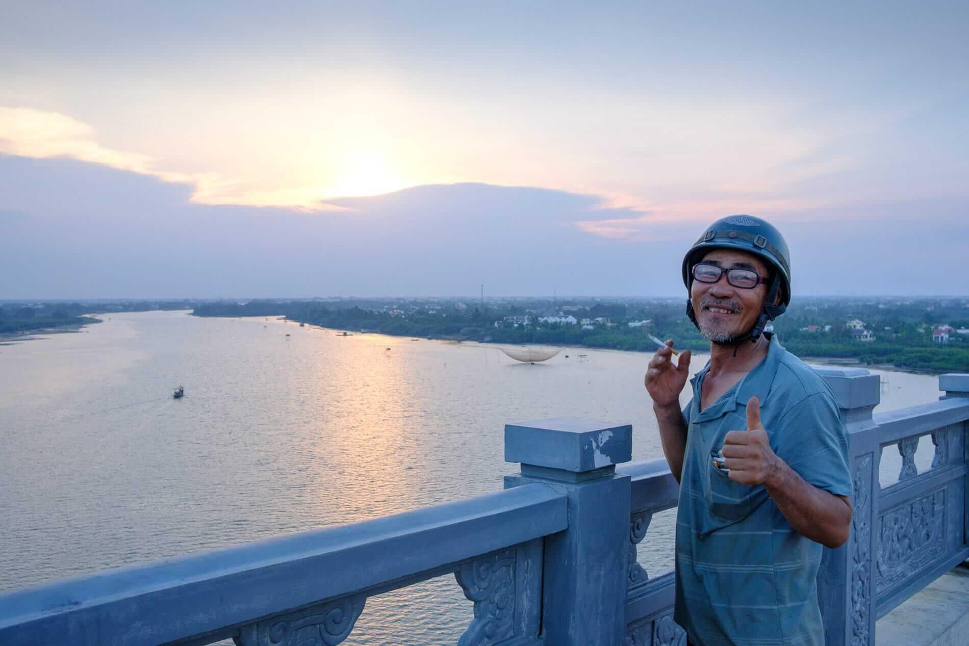 Cua Dai Bridge