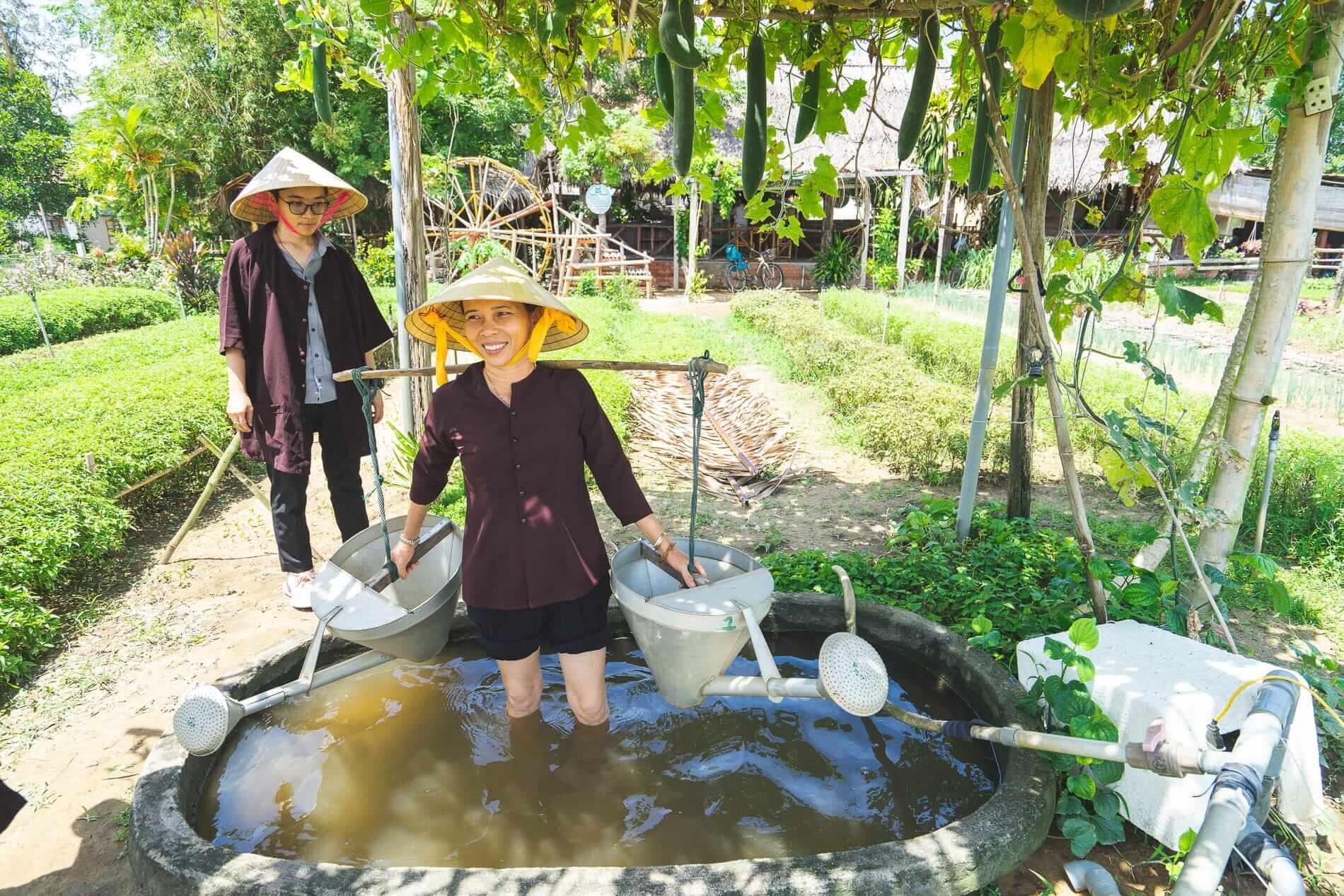 Farm life on a tour - Tra Que Vegetable Village