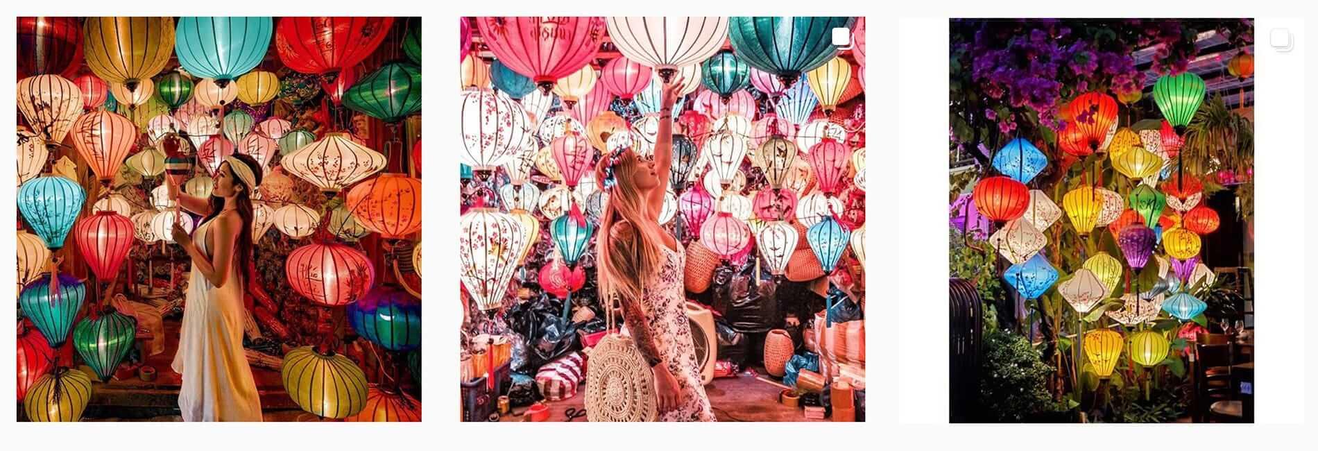 Hoi An lanterns on Instagram
