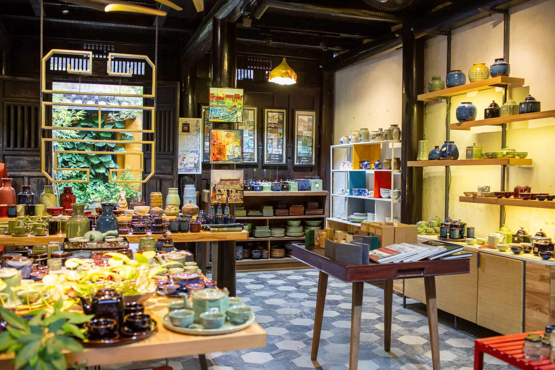 Main shop at Cotic Art Space - Premium Brands in Hoi An