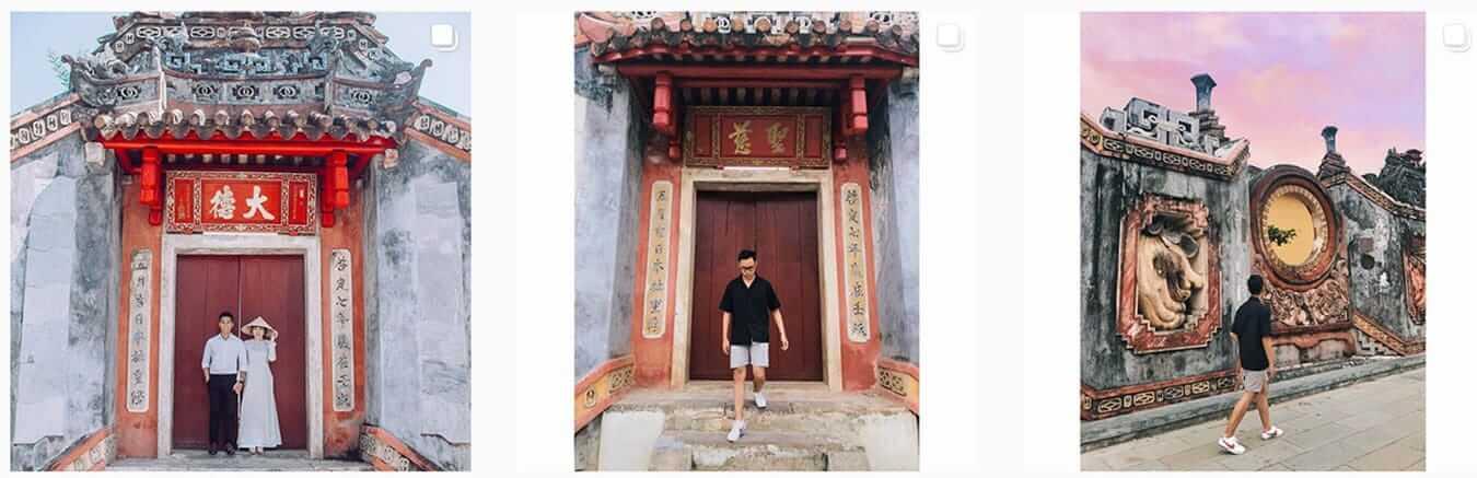 Newly restored Chua Ba Mu Pagoda - Instagram Guide to Hoi An