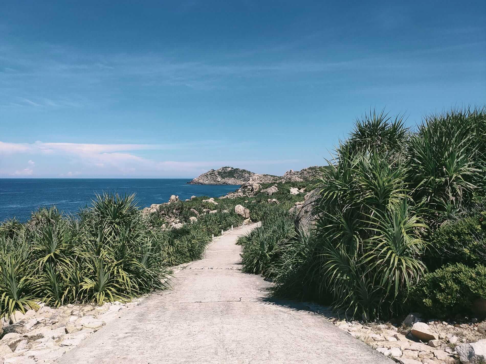 A small coast road - Hoi An to Quy Nhon
