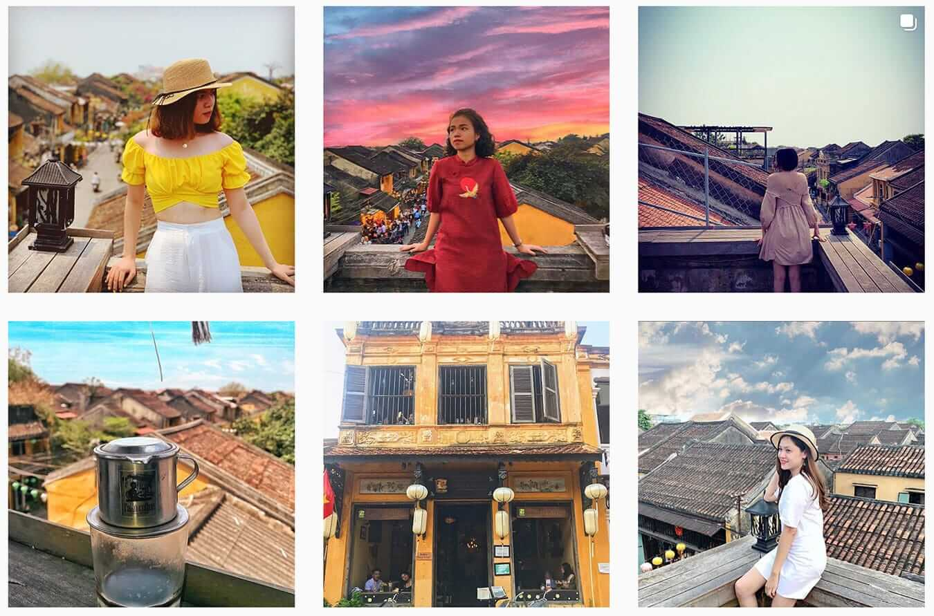 Rooftop of Faifo Coffee -Instagram Guide to Hoi An