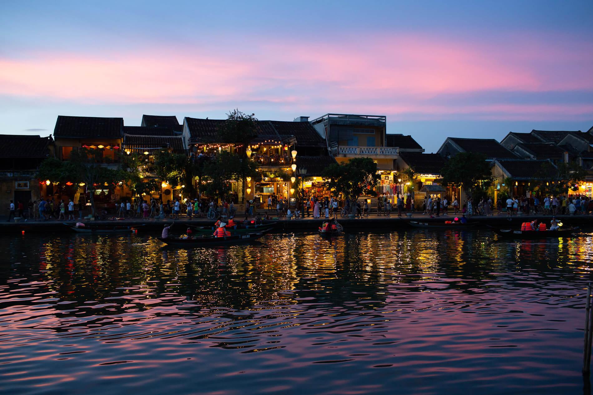 Hoi An's best Sunset