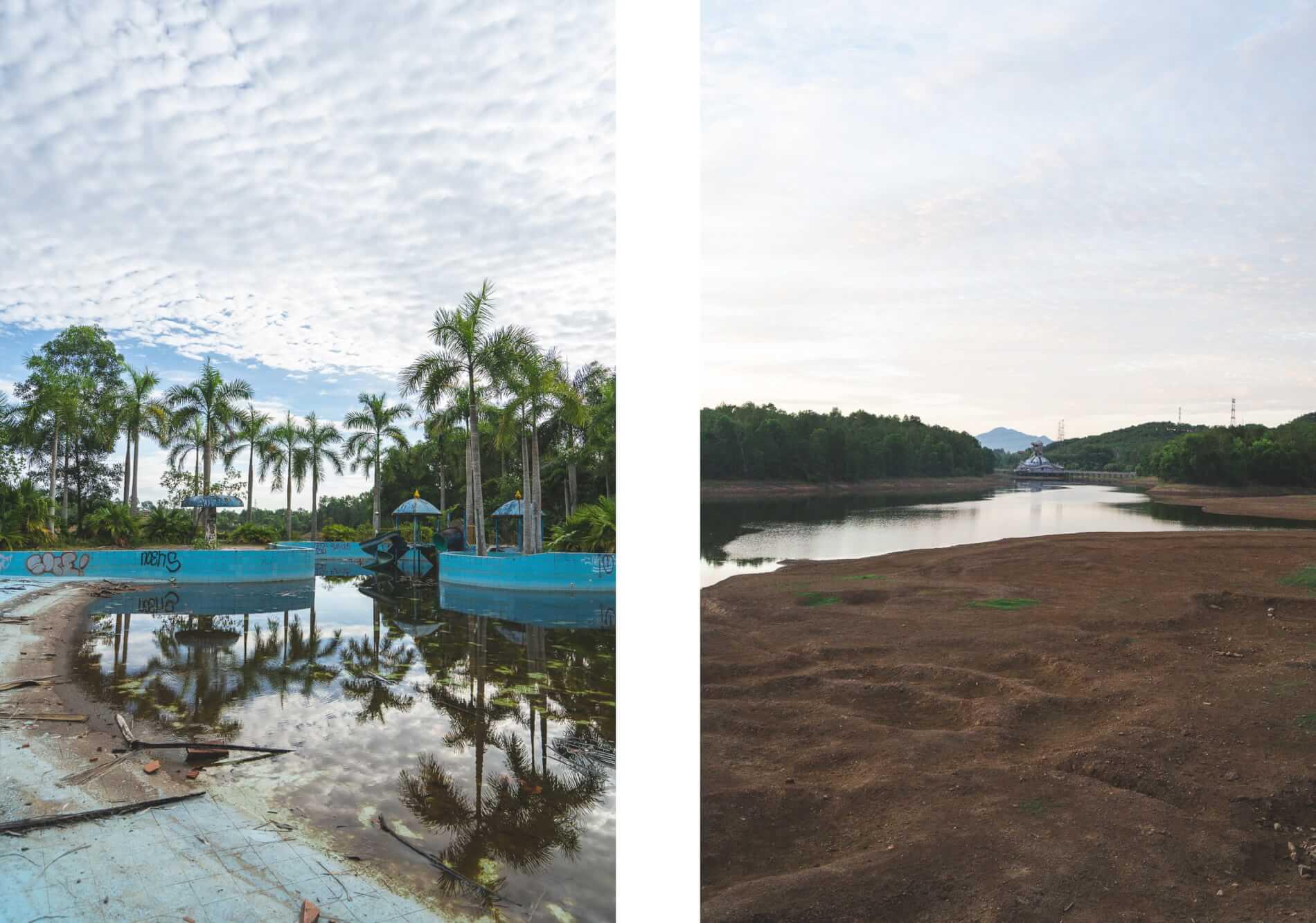 Visiting Hue's abandoned water park