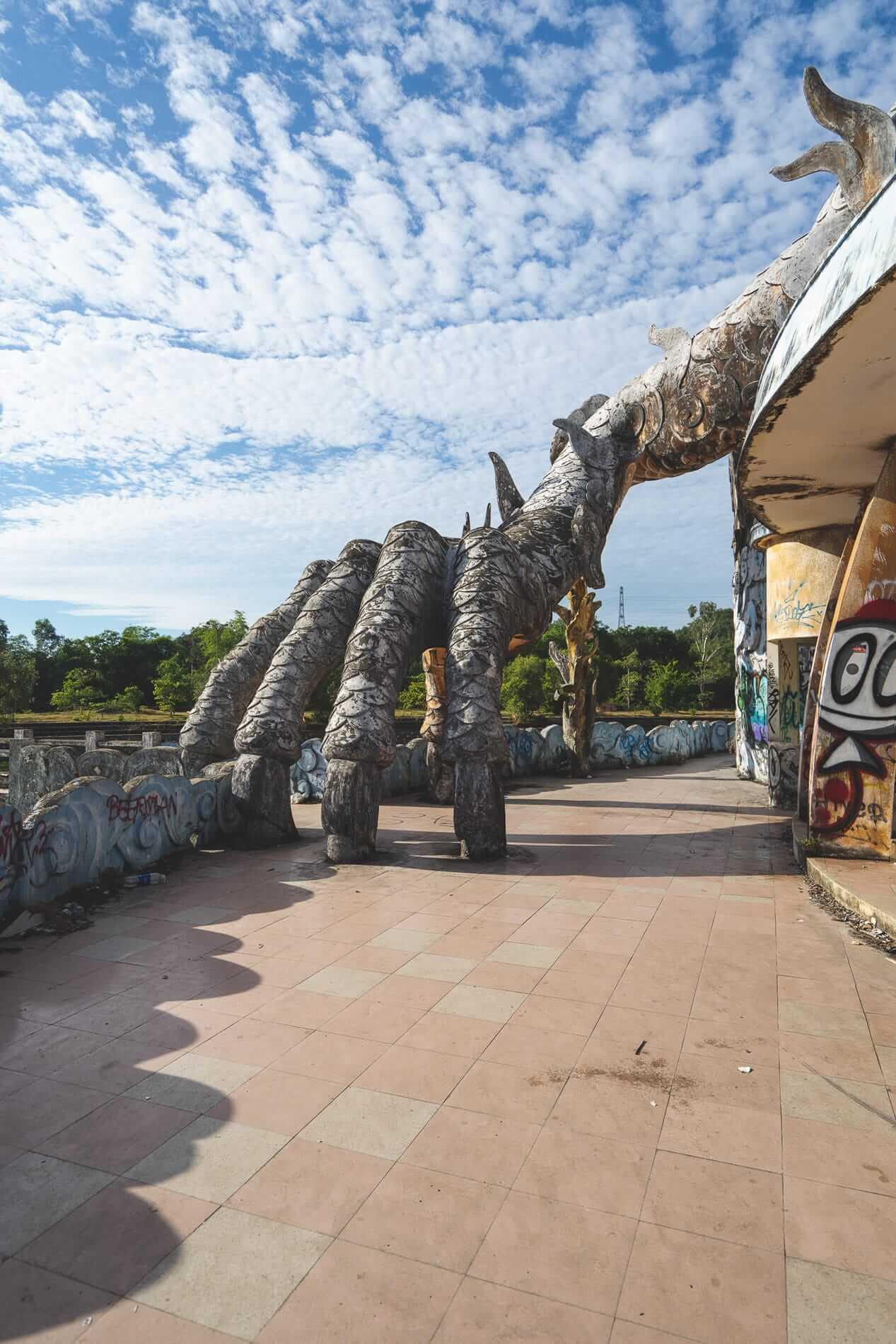 Amphitheater entrance - Hues Abandoned Water Park