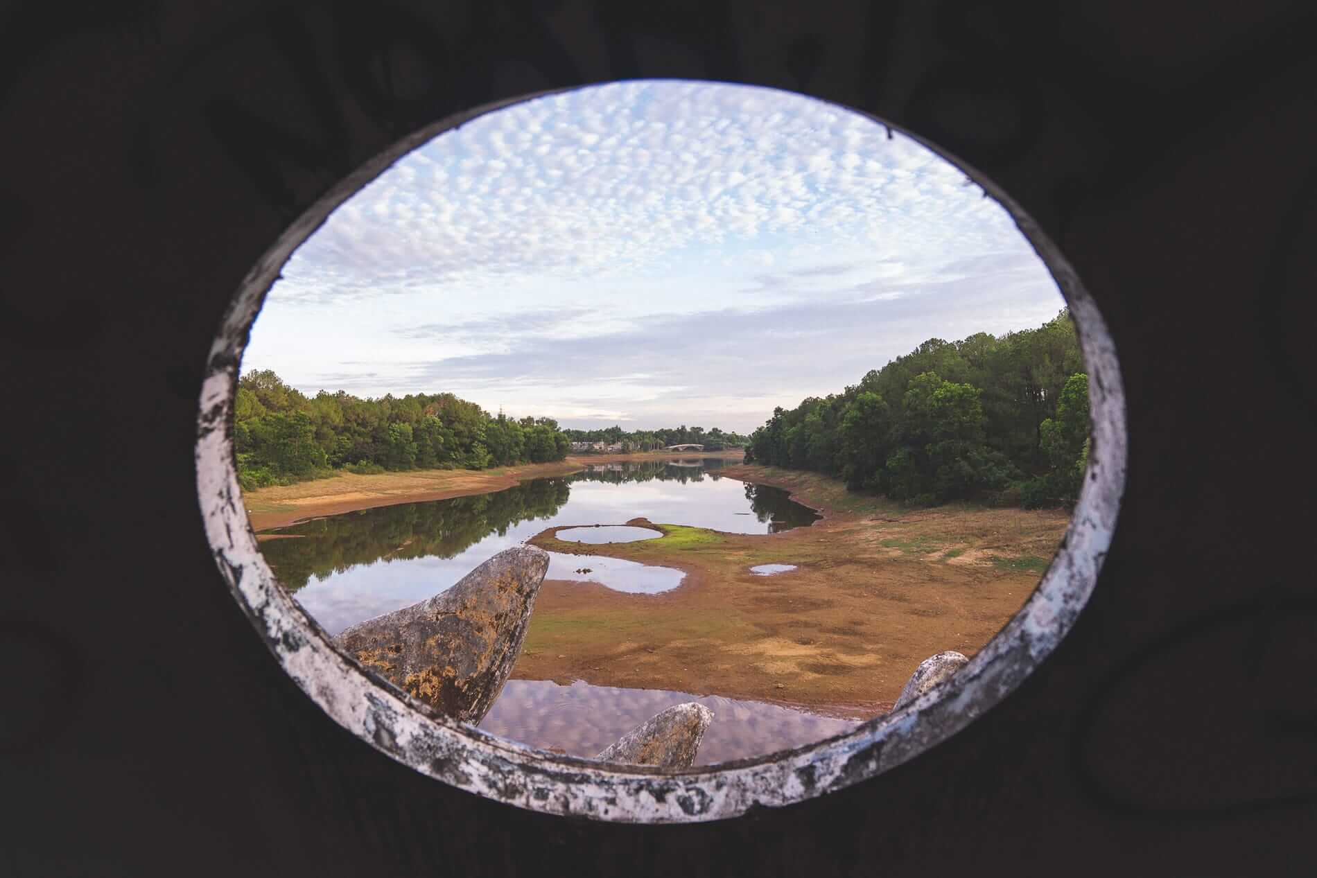 View outside - Hues Abandoned Water Park