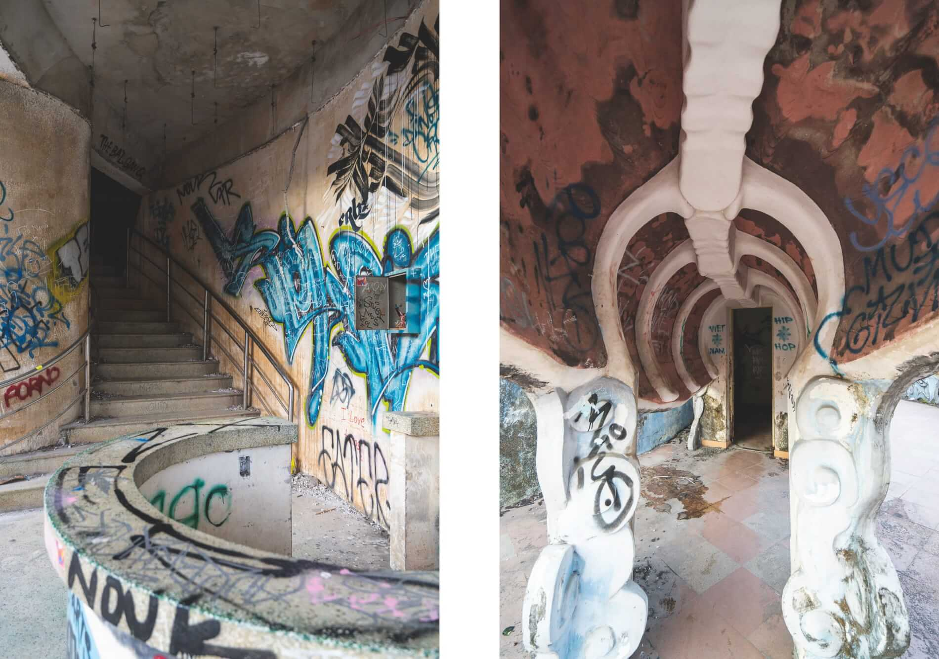 vandalized water park - Hue's abandoned water park