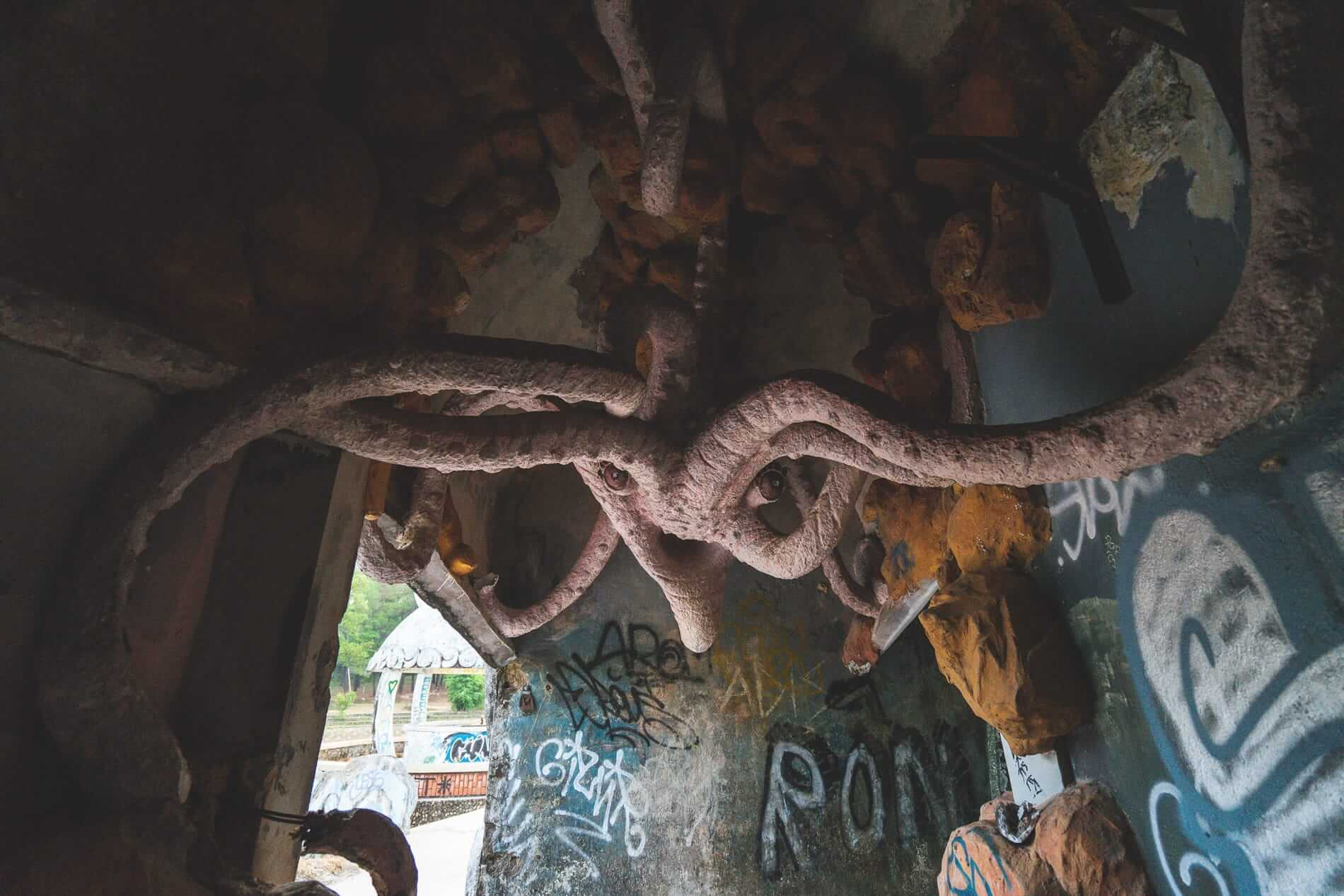 Old and vandalized - Hue's abandoned water park