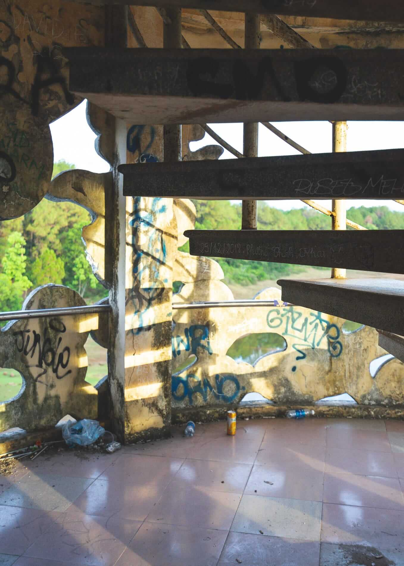 Stairs - Hues Abandoned Water Park