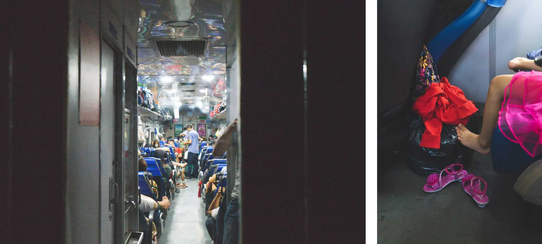 Train from Danang to Hue - Hue's abandoned water park