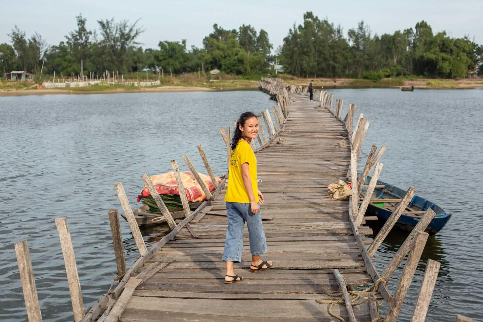 Tram knows Duy Vinh Island