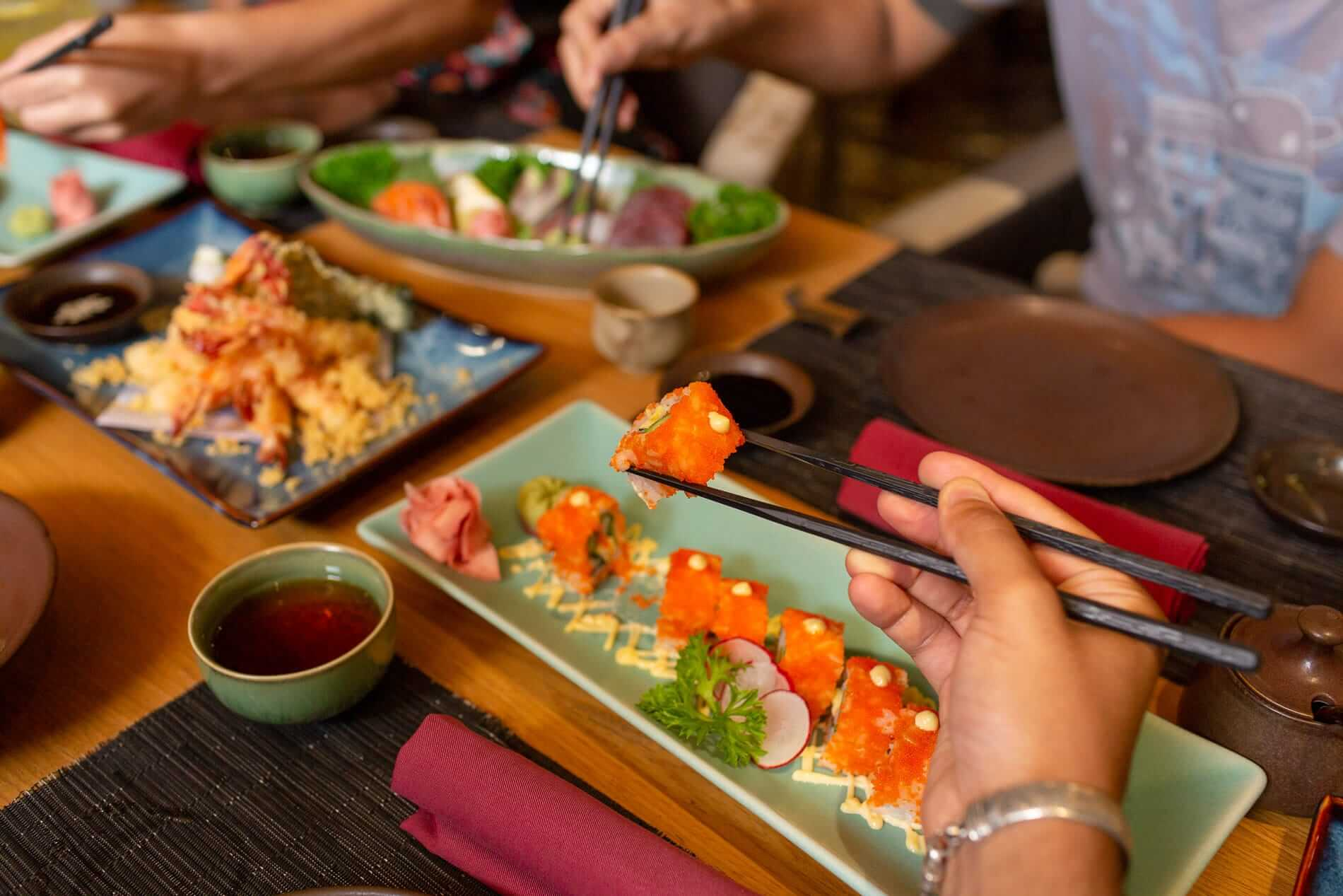 Japanese food in Hoi An