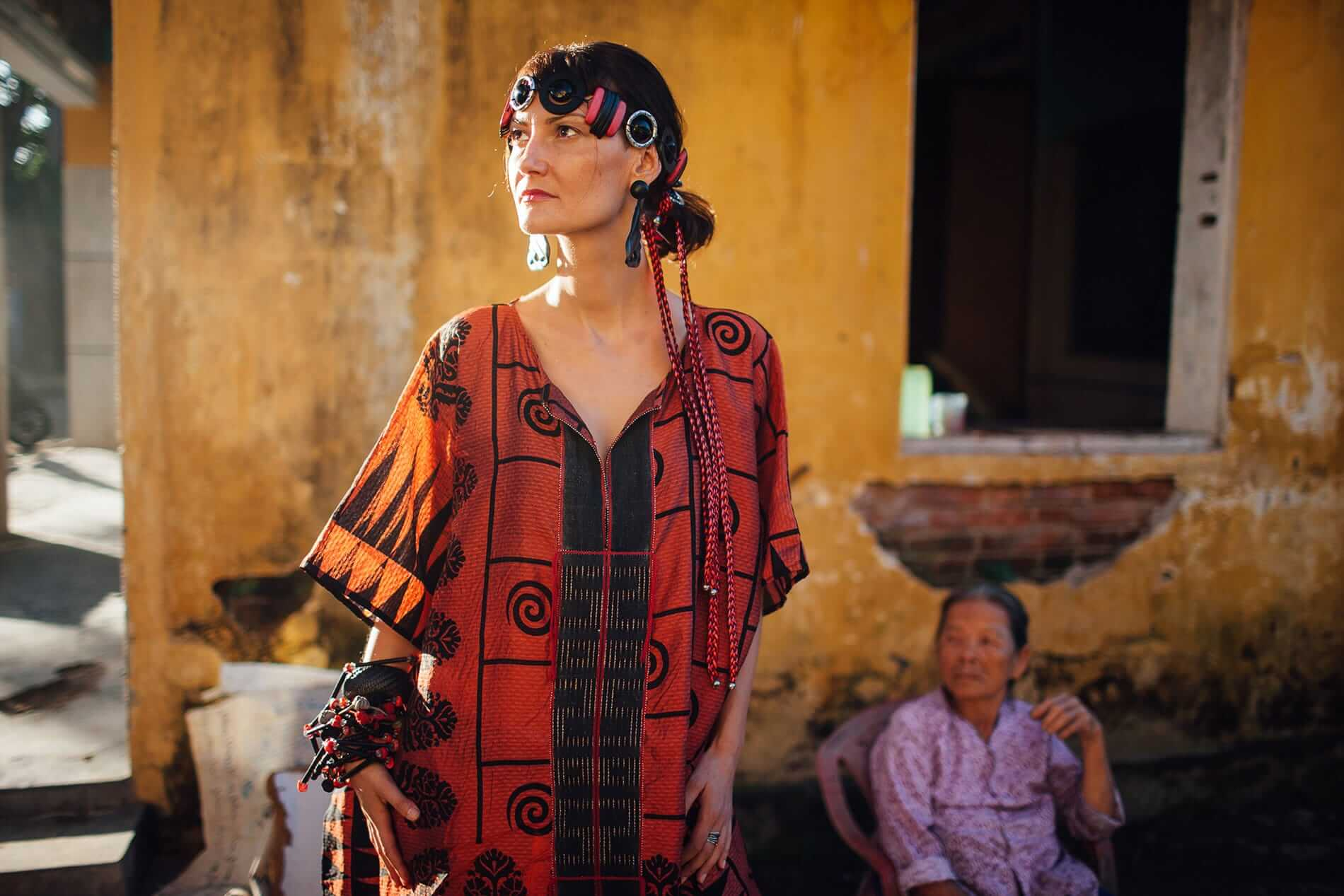 Avana Fashion in the streets of Hoi An