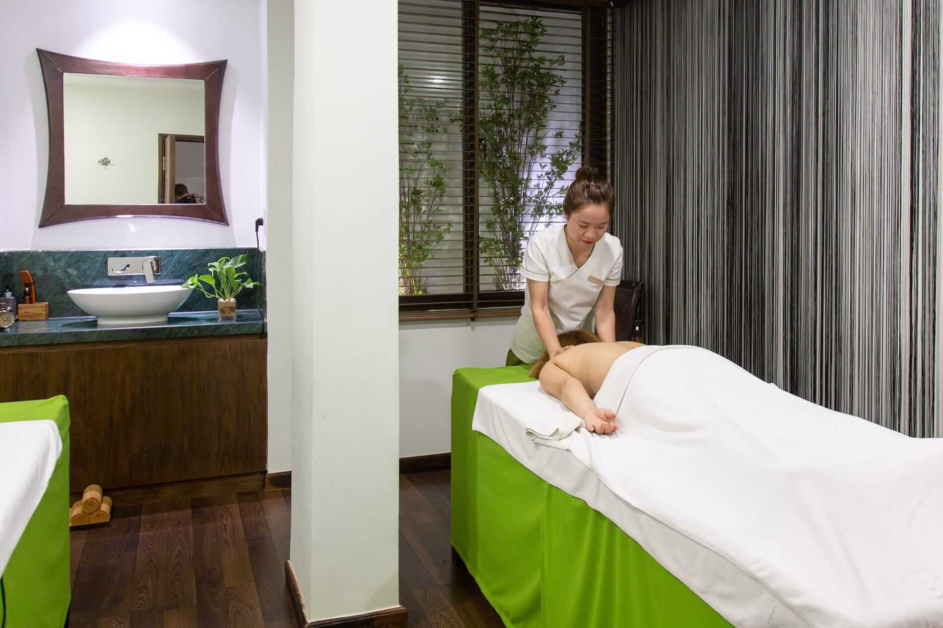 Spa treatment in Hoi An