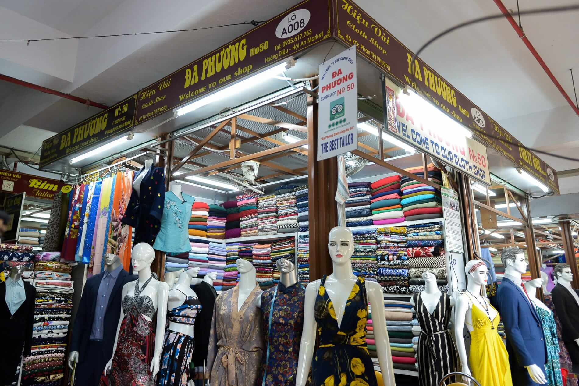 Da Phuong Tailor shop - Hoi An Shopping Guide