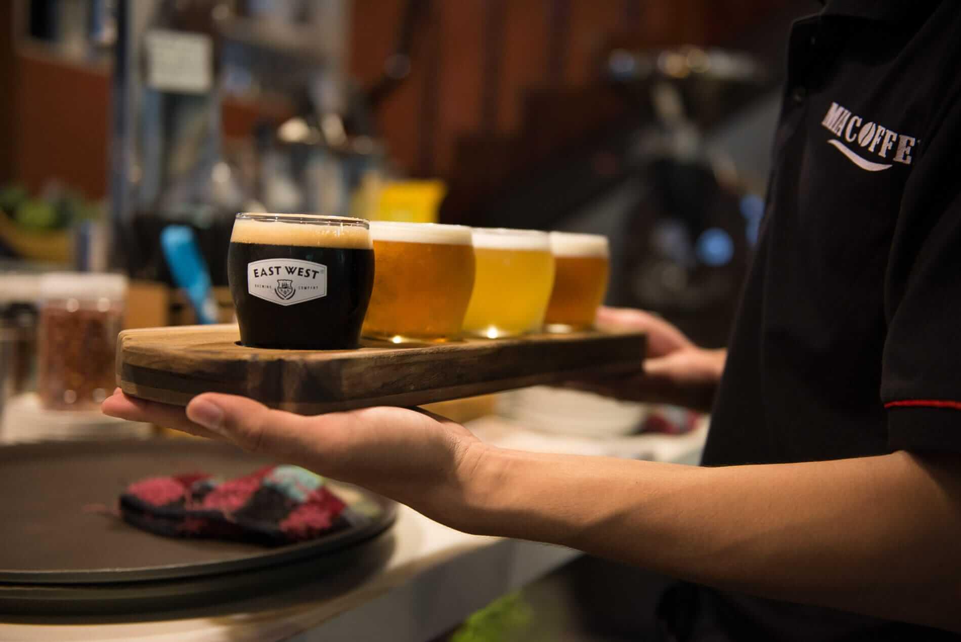 East West Brewery beer