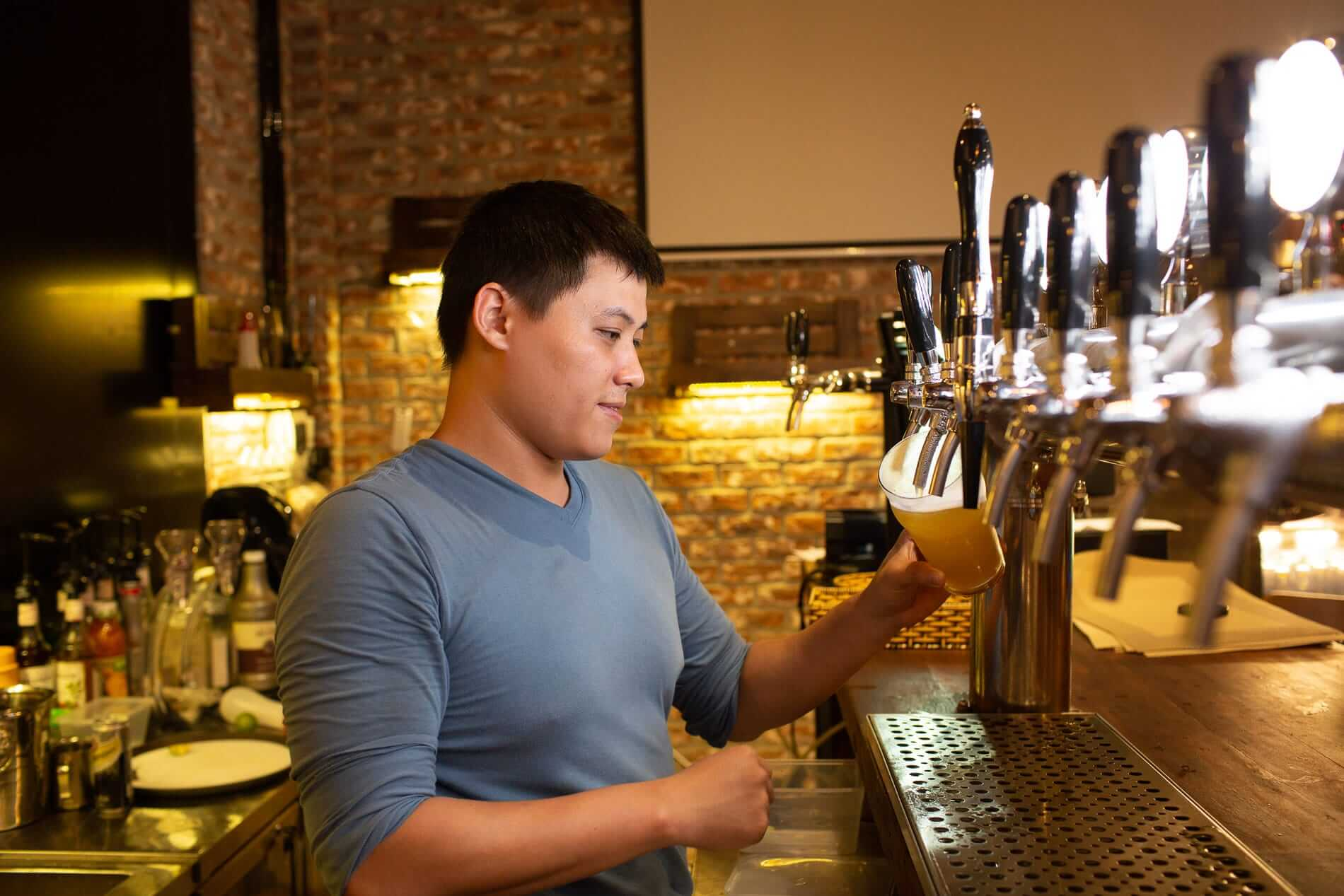 Hoi An Brewery owner Huy - Craft Beer in Hoi An