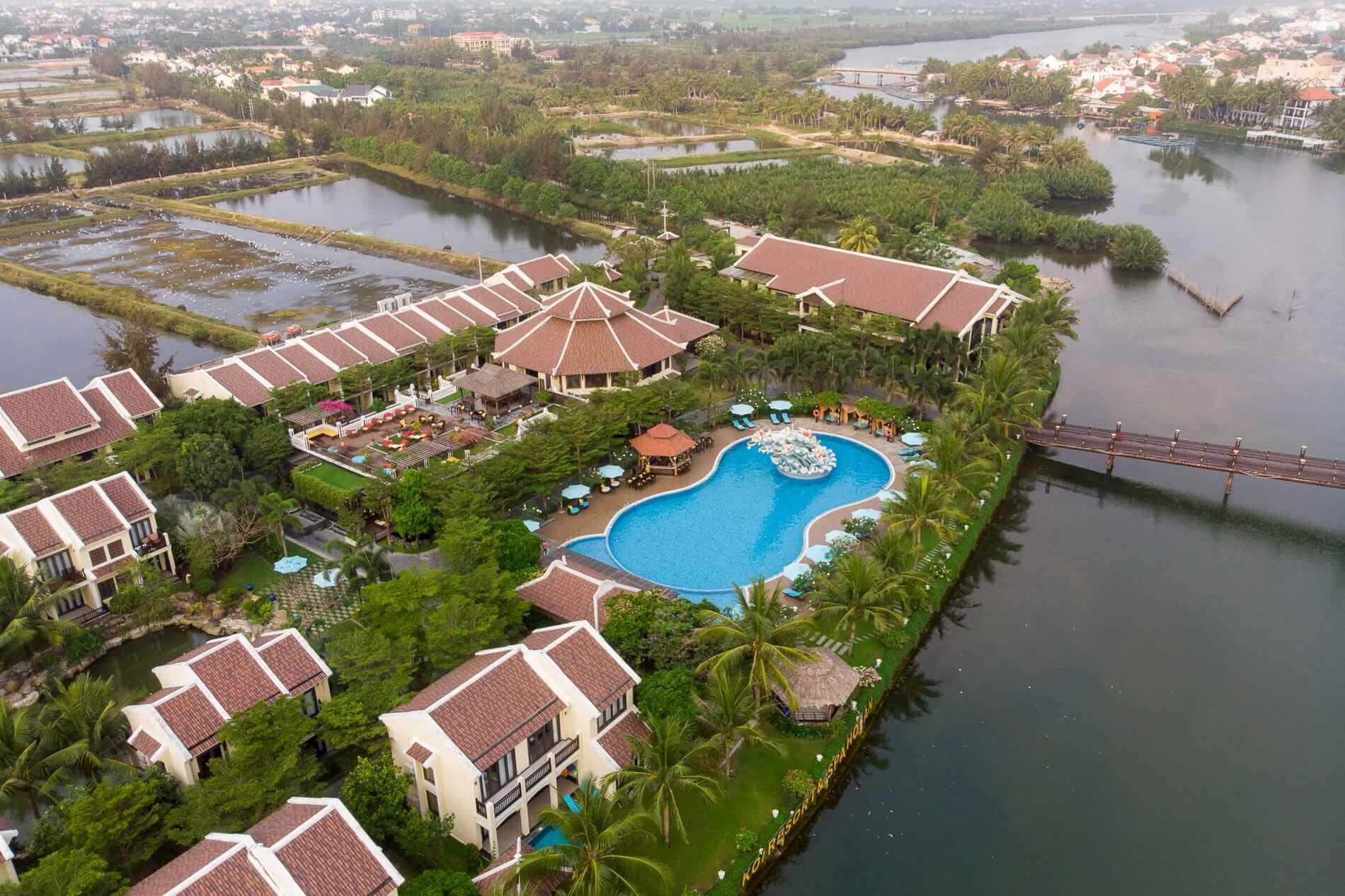 Koi Resort unique setting - Hoi An Beach Resorts