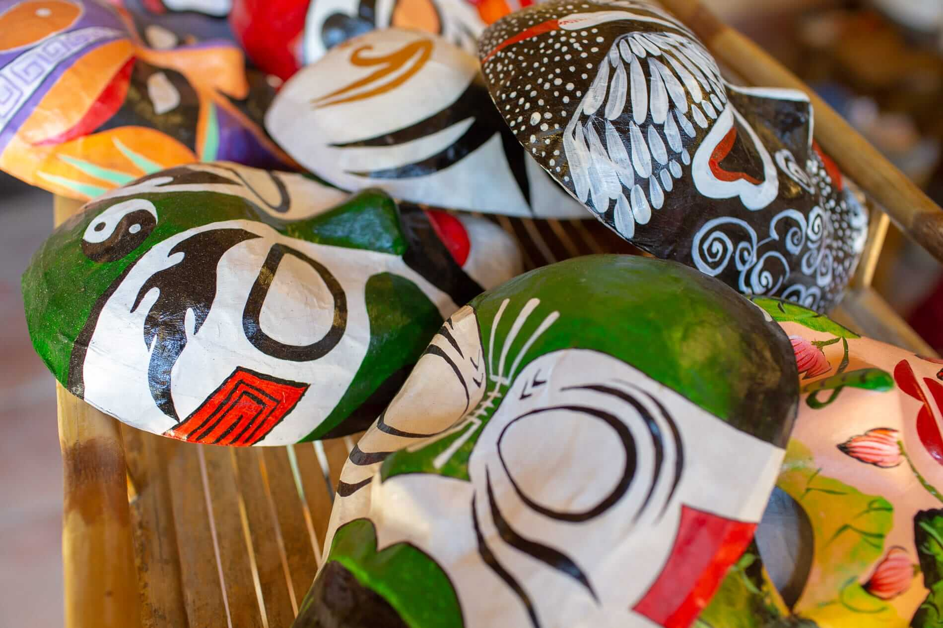 Painted masks - Hoi An Ancient Town