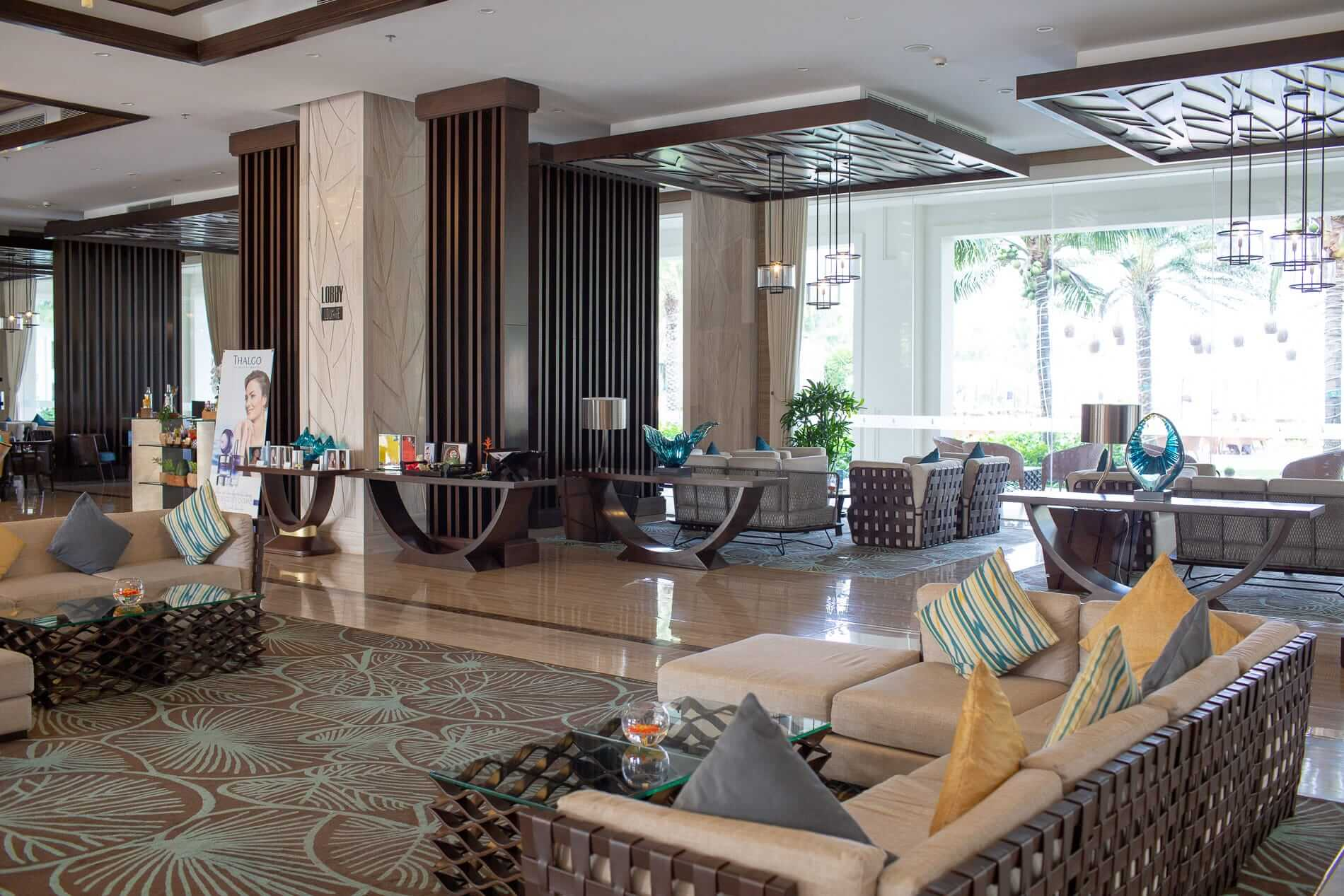 Reception and lounge at The Vinpearl Resort - Hoi An Beach Resorts
