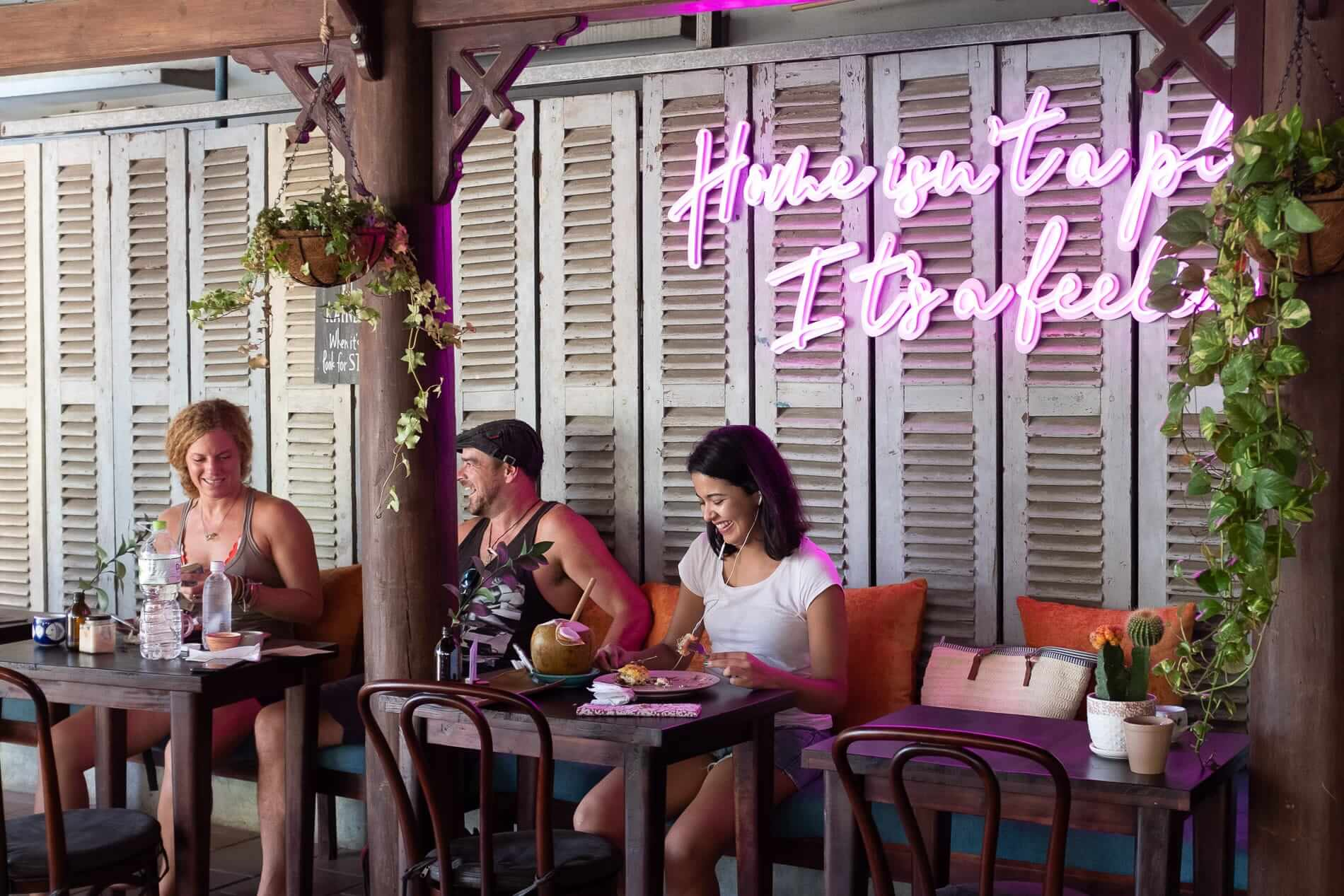 traditional architecture and modern design at Rosie's in Hoi An