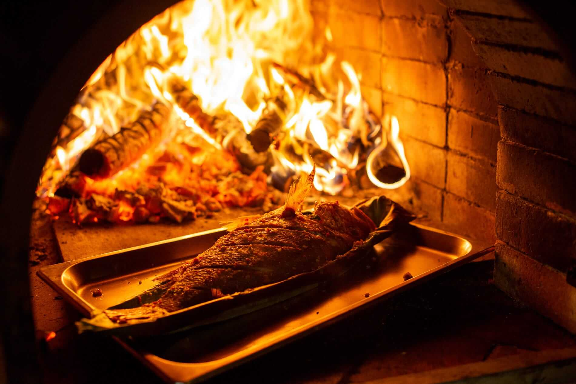 Woodfired cooking