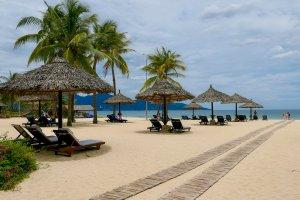 Golden sands at Furama Resort