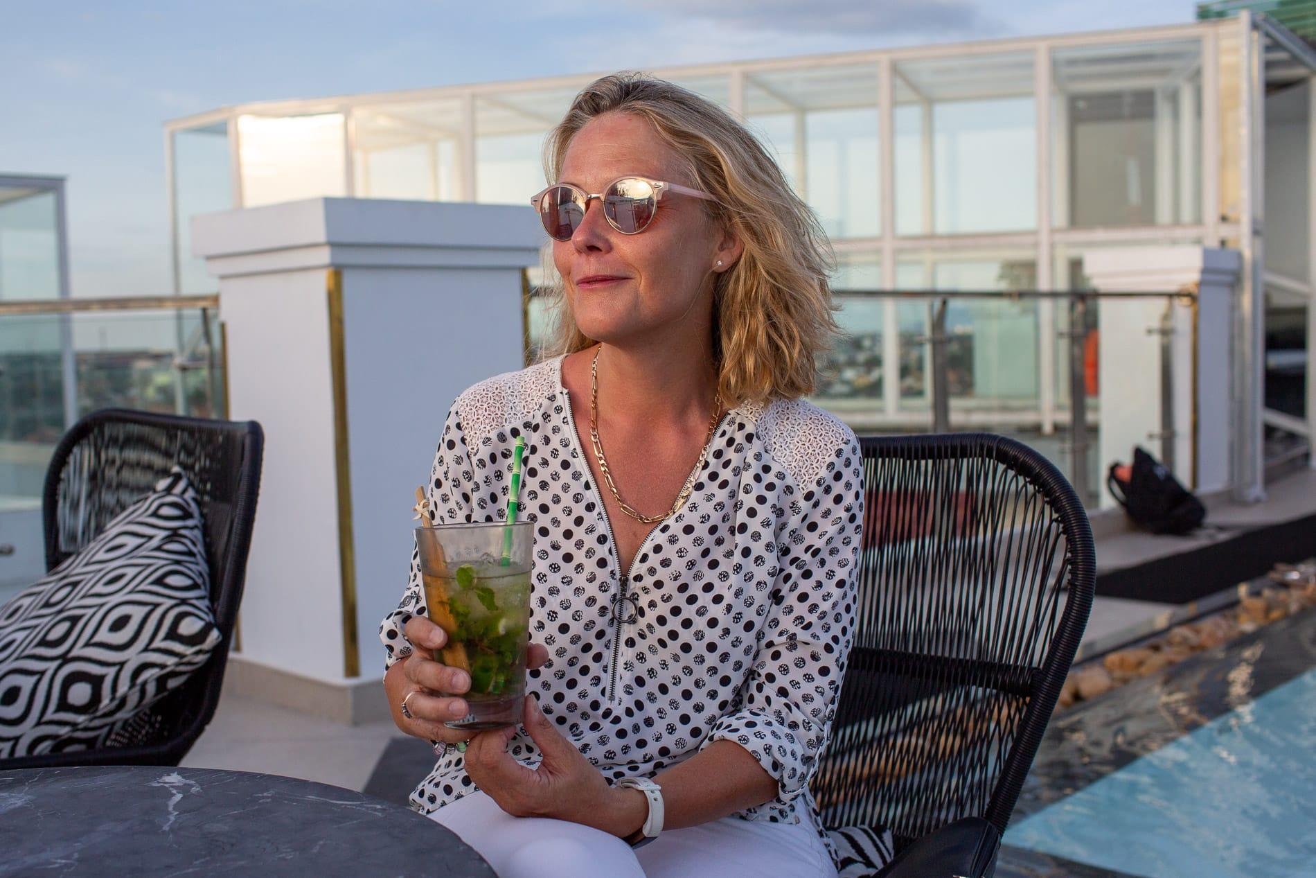 cocktails at Hotel Royal
