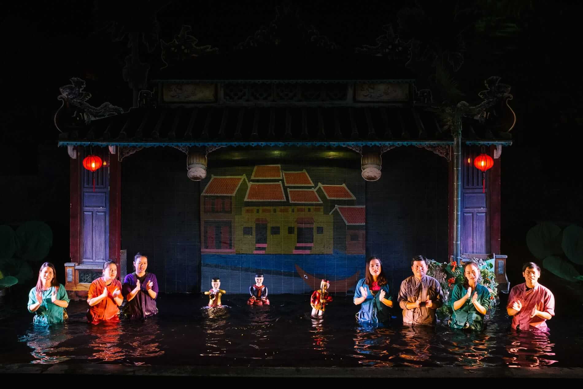 traditional Vietnamese Water Puppet Show in Hoi An