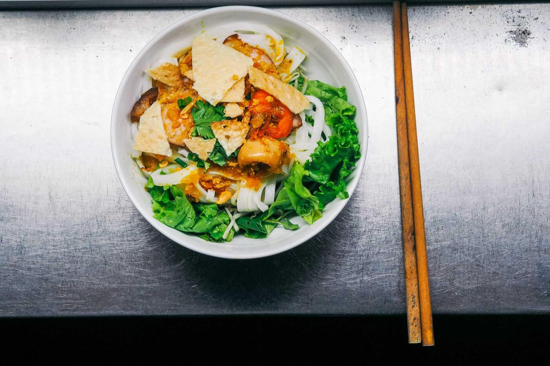 Central Vietnam's Mi Quang noodles