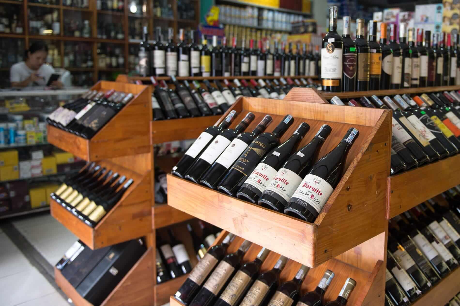 Bich Thuy Mart wines