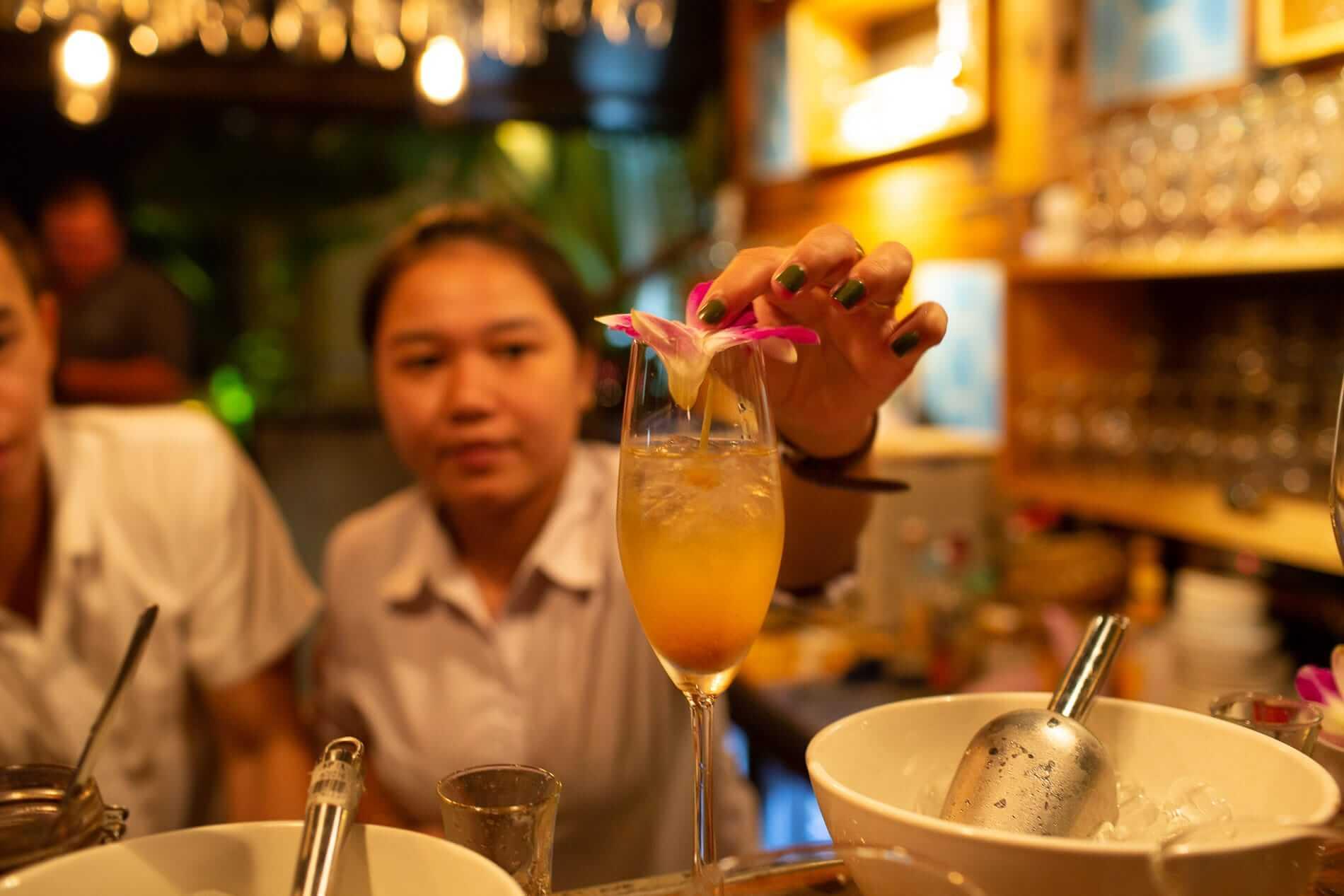 Staff at Market Bar Hoi An