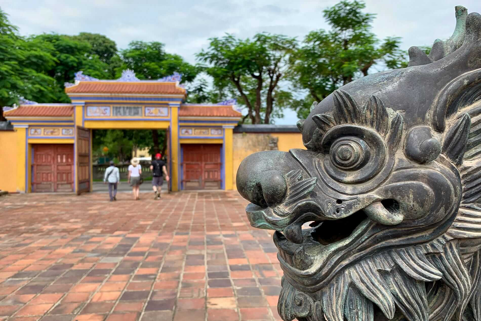 Historical sites can be found across Hue
