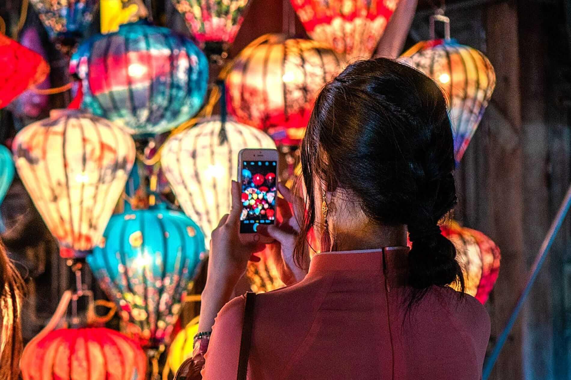 Hoi An's magical lanterns