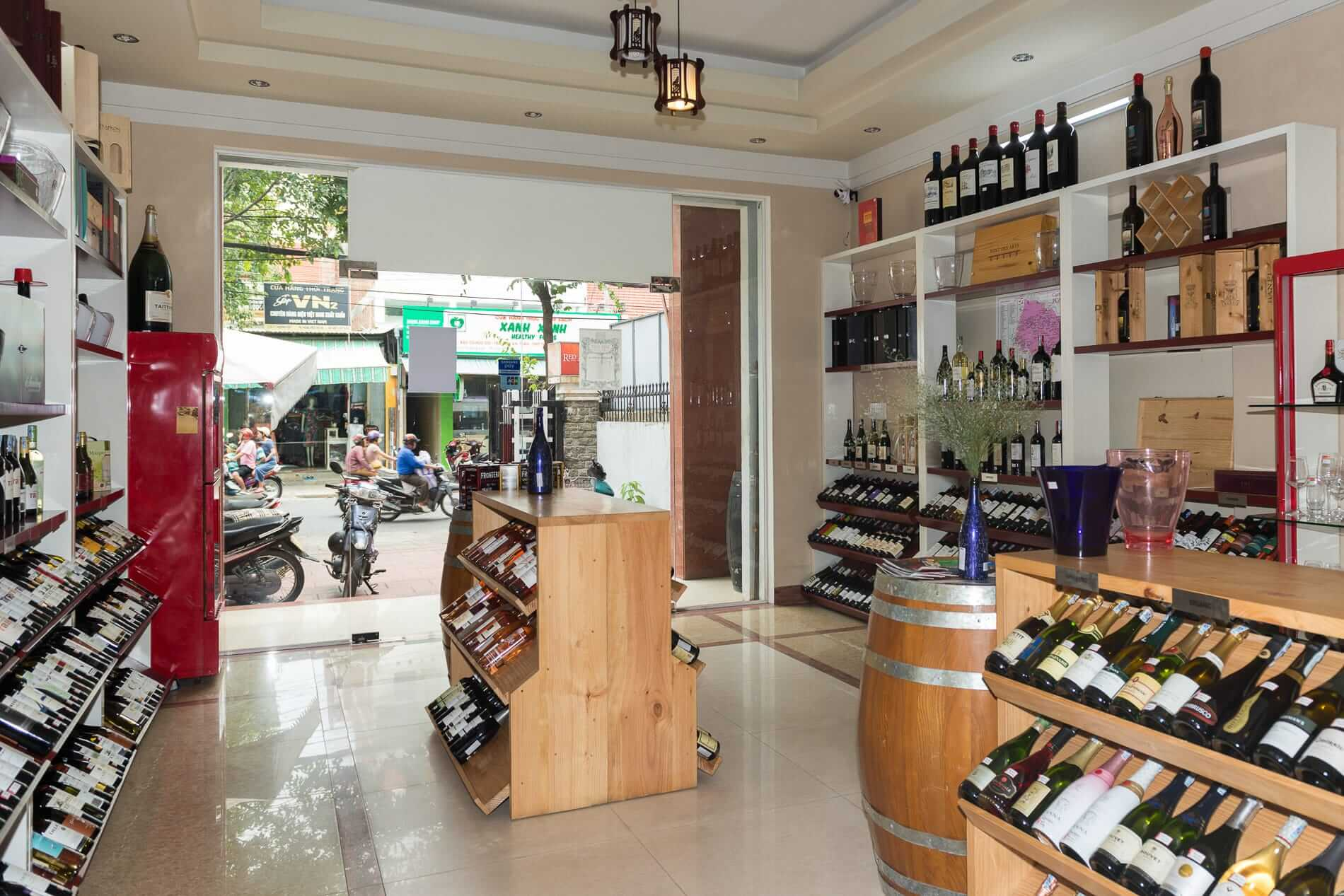 Red Apron provides a modern wine shop