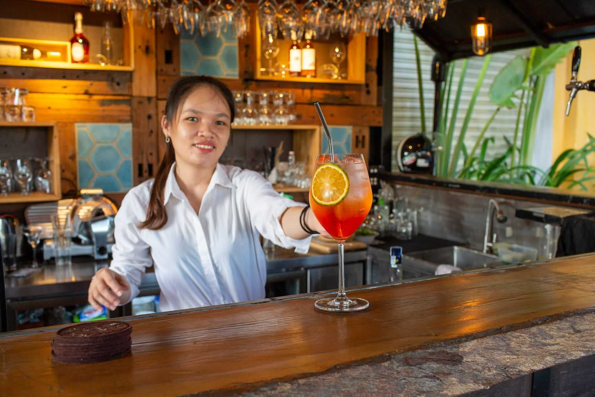 Find a peaceful oasis at Market Bar Hoi An