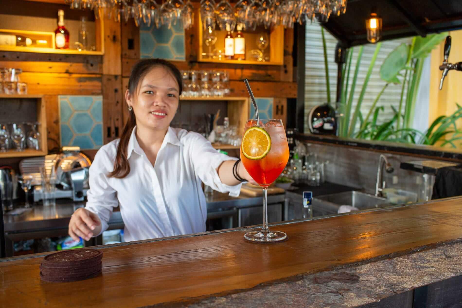 Find a peaceful oasis at Market Bar Hoi An