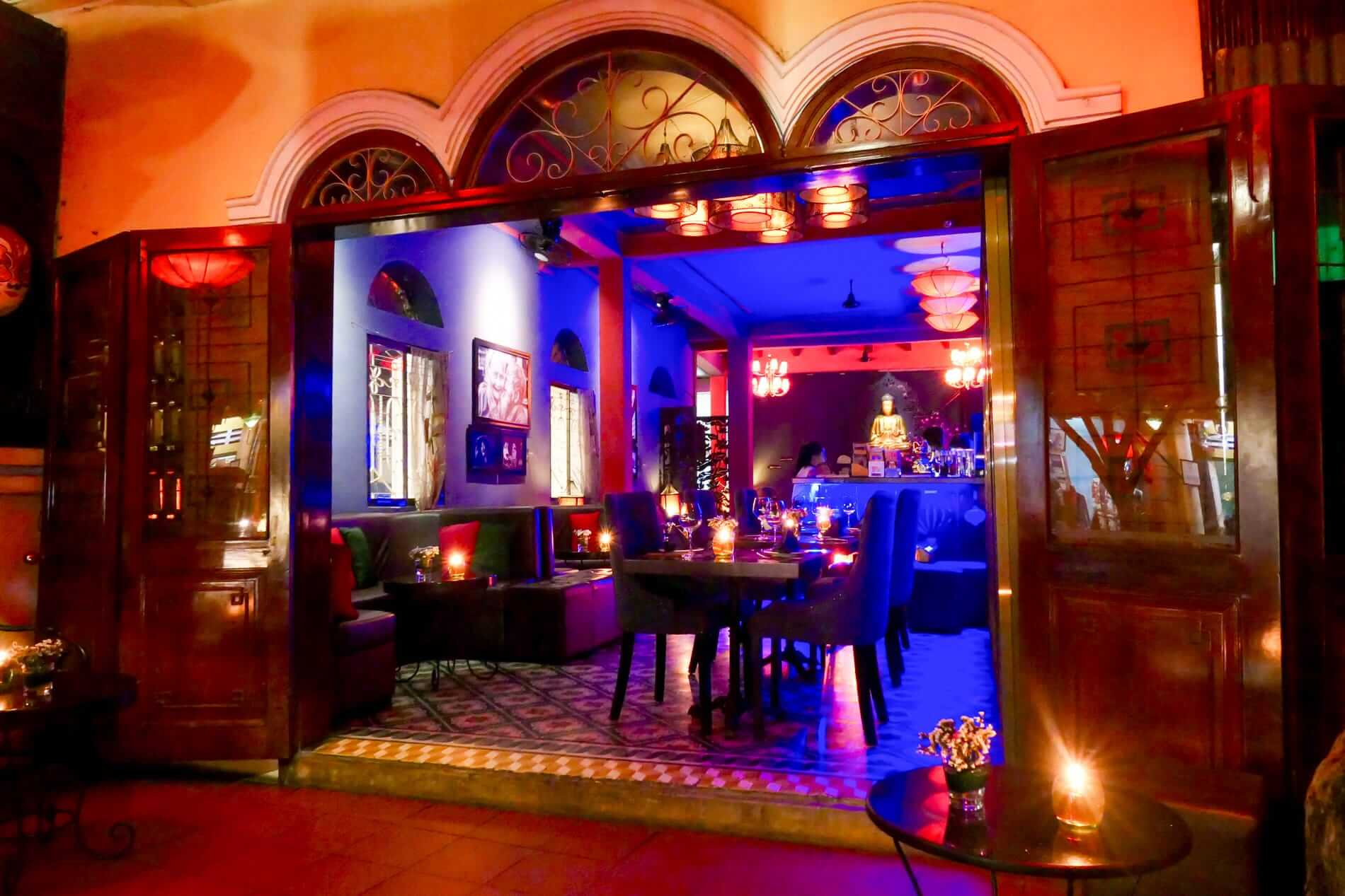 The Hoianian Wine Bar cosy atmosphere