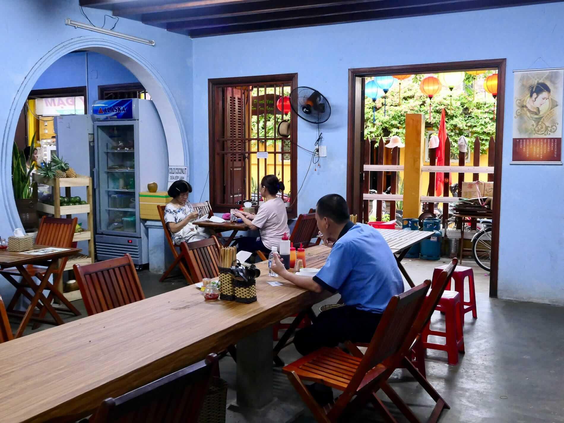 Quan Chay Ba Dam restaurant