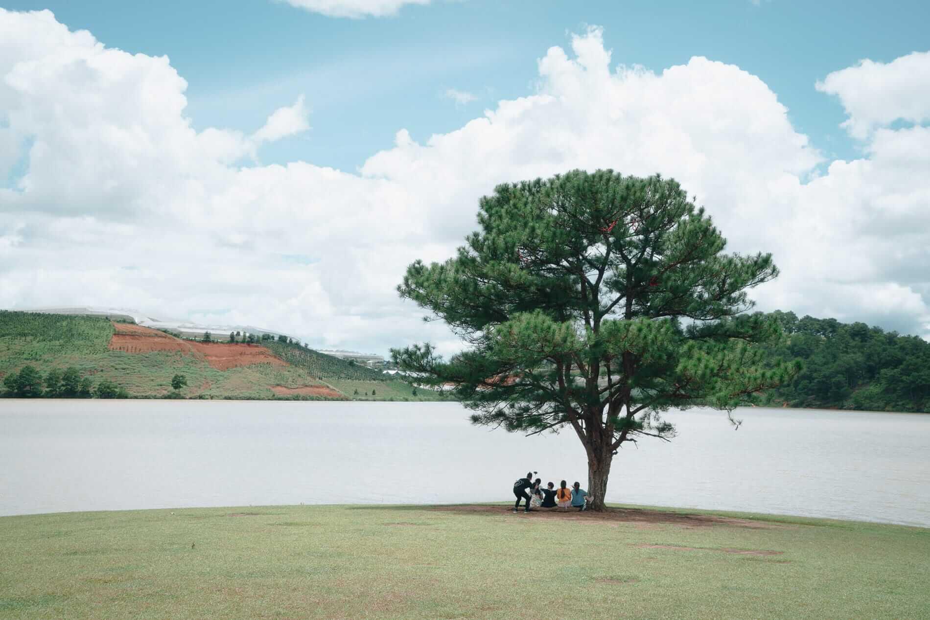 The lake in Da Lat