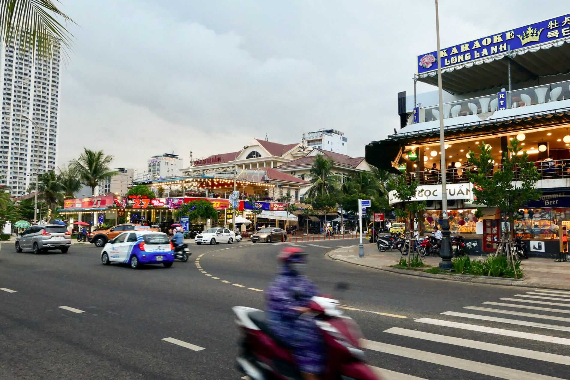 Da Nang is easy to find your way around.