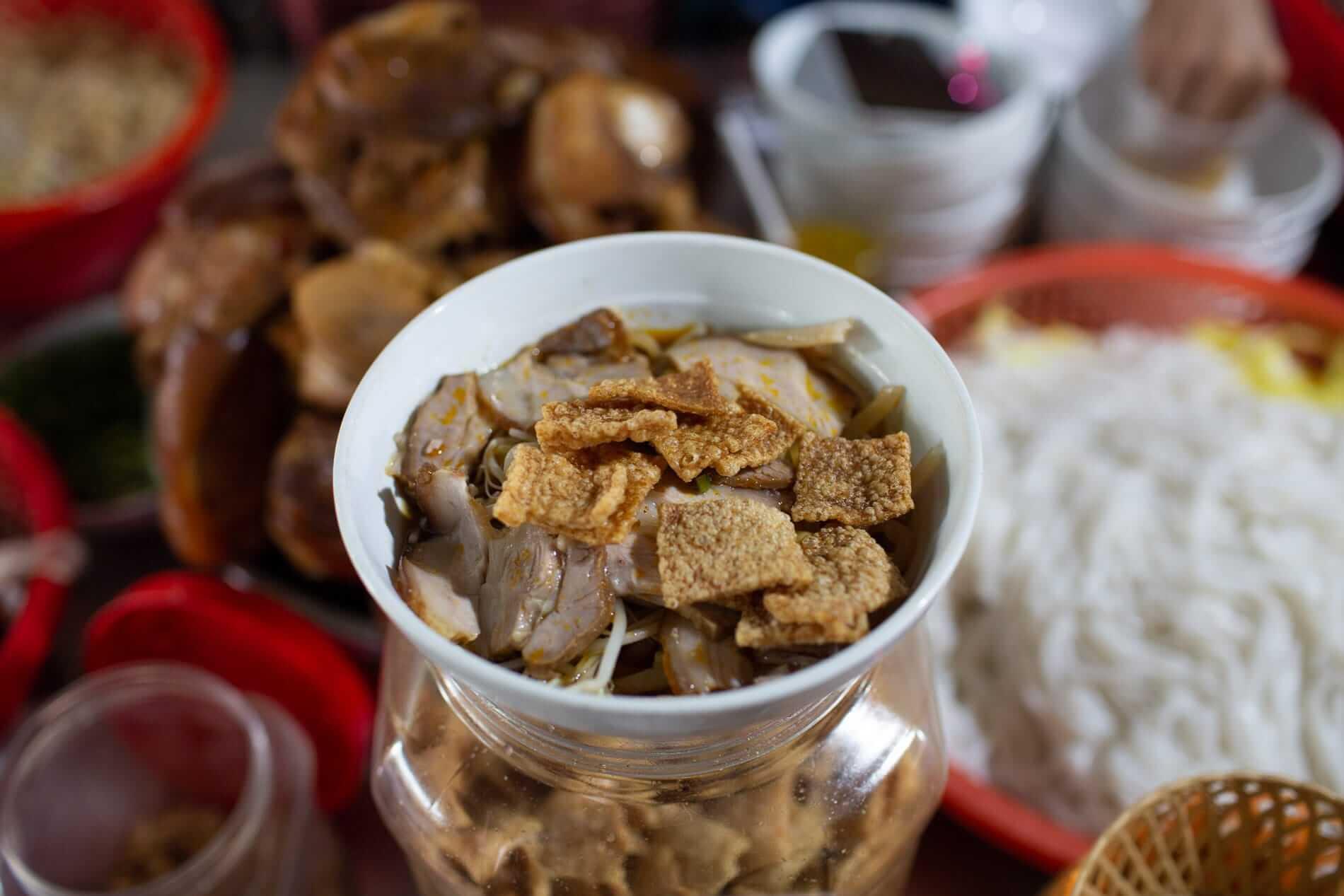 Hoi An's famous Cao Lau noodles. Photo: Anna Jamieson