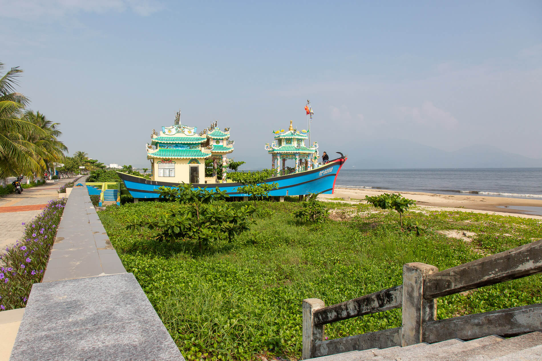 ornate shrine to fishermen found on Da Nang's Red Beach