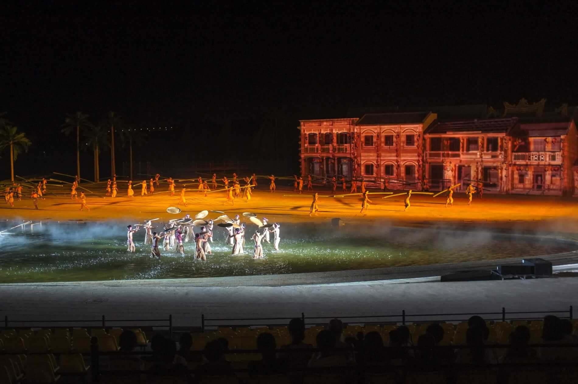 Performers on Hoi An Memories Show Stage